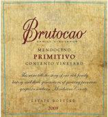 布鲁托卡酒庄孔腾托园普里米蒂沃红葡萄酒(Brutocao Cellars Contento Vineyard Primitivo,California,USA)