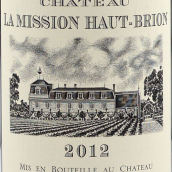 美讯酒庄红葡萄酒(Chateau La Mission Haut-Brion, Pessac-Leognan, France)