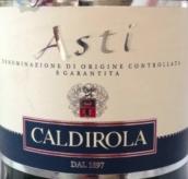 卡迪罗拉阿斯蒂起泡酒(Caldirola Asti DOCG, Piedmont, Italy)