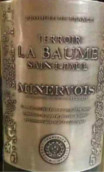 波美圣保罗米内瓦红葡萄酒(Terroir la Baume Saint-Paul Minervois, Languedoc-Roussilon, France)