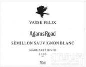 菲历士亚当路赛美蓉-长相思干白葡萄酒(Vasse Felix Adams Road Semillon - Sauvignon Blanc, Margaret River, Australia)