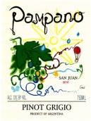 潘帕诺酒庄灰皮诺干白葡萄酒(Pampano Wines Pinot Grigio, San Juan, Argentina)