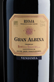 里奥哈格兰阿尔比娜本帝米亚干红葡萄酒(Bodegas Riojanas Gran Albina, Rioja DOCa, Spain)