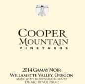 库珀山佳美干红葡萄酒(Cooper Mountain Vineyards Gamay Noir,Willamette Valley,USA)