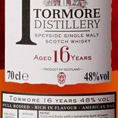 托莫尔16年苏格兰单一麦芽威士忌(Tormore Aged 16 Years Single Malt Scotch Whisky,Speyside,UK)