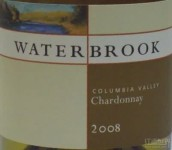 水博客霞多丽干白葡萄酒(Waterbrook Winery Chardonnay,Columbia Valley,USA)