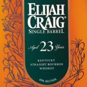 以利亚克雷格23年单桶肯塔基纯波本威士忌(Elijah Craig Aged 23 Years Single Barrel Kentucky Straight ...)