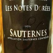 杜瓦尔布兰奇酒庄多尔甜白葡萄酒(Duval Blanchet Les Notes Dorees,Sauternes,France)
