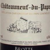 布诺特安瑟伦教皇新区干白葡萄酒(Brotte Pere Anselme La Fiole du Pape Blanc,Chateauneuf-du-...)