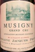 雅克普利尔酒庄(慕西尼特级园)干红葡萄酒(Domaine Jacques Prieur Musigny Grand Cru, Cote de Nuits, France)