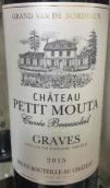Chateau Petit Mouta Cuvee Beausoleil, Graves, France