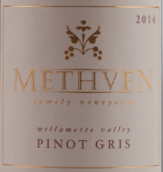 梅斯文家族灰皮诺干白葡萄酒(Methven Family Vineyards Pinot Gris,Willamette Valley,USA)