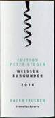 巴登酒庄巴登彼特斯蒂格灰皮诺干型桃红葡萄酒(Badischer Winzerkeller Weiber Burgunder Edition Peter Steger Trocken , Baden, Germany)