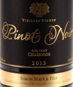 西蒙查莫森老藤黑皮诺干红葡萄酒(Simon Maye & Fils Chamoson Vieilles Vignes Pinot Noir, Valais, Switzerland)