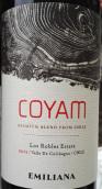 埃米利亚纳可雅干红葡萄酒(Emiliana Coyam Premium Blend,Colchagua Valley,Chile)