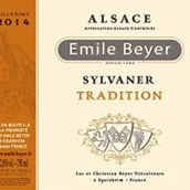 爱弥拜尔庄园西万尼传统干白葡萄酒(Domaine Emile Beyer Sylvaner Tradition,Alsace,France)