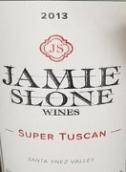 杰米斯隆超级托斯卡纳风格干红葡萄酒(Jamie Slone Wines Super Tuscan,Santa Ynez Valley,USA)