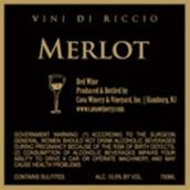 卡瓦维尼底里奇奥梅洛干红葡萄酒(Cava Winery&Vineyard Vini di Riccio Merlot,New Jersey,USA)
