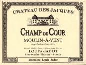 路易亚都雅克庄风车磨坊夏普谷园干红葡萄酒(Louis Jadot Chateau des Jacques Moulin-a-Vent Champ de Cour, Beaujolais, France)