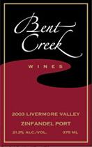 本特溪仙粉黛波特风格加强酒(Bent Creek Winery Zinfandel Port,Livermore Valley,USA)