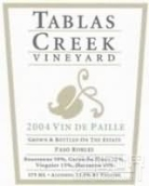 塔湾派乐甜白葡萄酒(Tablas Creek Esprit Vin de Paille,Paso Robles,USA)