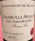 罗斯德贝爱侣园(香波-慕西尼一级园)红葡萄酒(Maison Roche de Bellene Les Amoureuses, Chambolle-Musigny Premier Cru, France)
