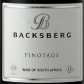 贝克斯堡皮诺塔吉干红葡萄酒(Backsberg Pinotage, Paarl, South Africa)