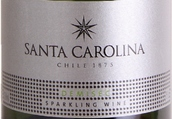 圣卡罗半干型起泡酒(Santa Carolina Sparkling Demisec,Valle Central,Chile)