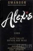 史云生酒庄亚历克西斯园红葡萄酒(Swanson Vineyards Alexis Estate Red, Napa Valley, USA)