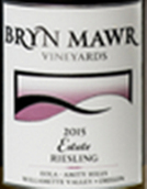 布林·茅尔雷司令白葡萄酒(Bryn Mawr Riesling,Willamette Valley,USA)