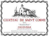 圣戈斯酒庄奥米妮费德干红葡萄酒(Chateau de Saint Cosme Hominis Fides, Gigondas, France)