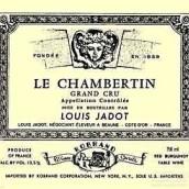 路易亚都香贝丹园干红葡萄酒(Louis Jadot Chambertin,Gevrey-Chambertin,France)