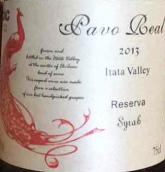 蓝孔雀珍藏西拉干红葡萄酒(Pavo Real Reserva Syrah, Itata Valley, Chile)