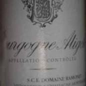 拉梦内阿里高特干白葡萄酒(Domaine Ramonet Aligote,Burgundy,France)