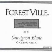 福雷斯特维尔长相思干白葡萄酒(ForestVille Sauvignon Blanc,California,USA)