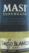 马西图蓬加托帕索干白葡萄酒(Masi Tupungato Passo Blanco di Argentina, Mendoza, Argentina)