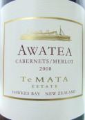 德迈阿瓦提赤霞珠梅洛混酿干红葡萄酒(Te Mata Estate Awatea Cabernets - Merlot, Hawke's Bay, New Zealand)