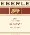 埃贝尔卡斯园瑚珊干白葡萄酒(Eberle Cass Vineyards Roussanne,Paso Robles,USA)