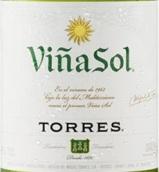 桃乐丝酒庄维纳-索尔干白葡萄酒(Torres Vina Sol, Catalunya, Spain)