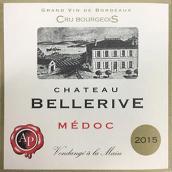 美丽河城堡红葡萄酒(Chateau Bellerive,Medoc,France)