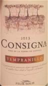 索莱斯座右铭丹魄干红葡萄酒(VdlT)(Felix Solis Consigna Tempranillo Vino de la Tierra, Castilla La Mancha, Spain)