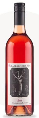 巴达基尼桃红葡萄酒(Baddaginnie Run Estate Rose,Strathbogie Ranges,Australia)