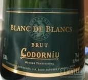 科多纽白中白起泡酒(Codorniu Blanc de Blancs Brut Cava,Catalonia,Spain)