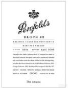 奔富特选Block 42卡琳娜园赤霞珠干红葡萄酒(Penfolds Block 42 Kalimna Cabernet Sauvignon,Barossa Valley,...)