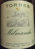 桃乐丝酒庄米尔曼达园干白葡萄酒(Torres Milmanda, Conca de Barbera, Spain)