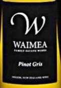 威美亚灰皮诺半干白葡萄酒(Waimea Pinot Gris,Nelson,New Zealand)