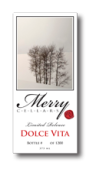 快活酒庄甜美生活半甜红葡萄酒(Merry Cellars DolceVita, Washington, USA)