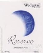 楔尾珍藏黑皮诺干红葡萄酒(Wedgetail Estate Reserve Pinot Noir,Yarra Valley,Australia)