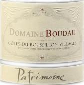 宝多酒庄帕特里蒙尼红葡萄酒(Domaine Boudau Patrimoine, Cotes du Roussillon Villages, France)