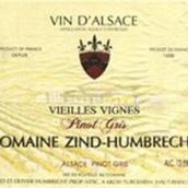 鸿布列什老藤灰皮诺干白葡萄酒(Domaine Zind-Humbrecht Vieilles Vignes Pinot Gris, Alsace, France)